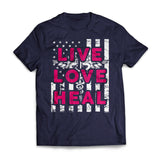 Live Love Heal Flag