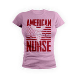 Red American Nurse Flag