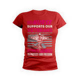 Nurse Supports Veterans