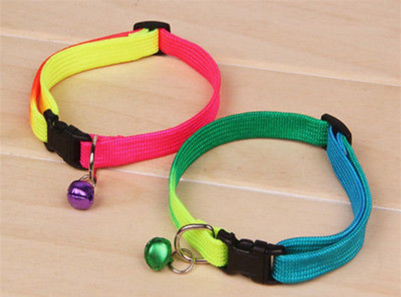 Rainbow Adjustable Comfortable Collar