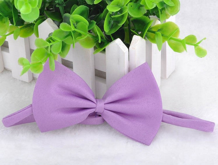 Sugar Color Bow Knot Tie Pet Accessory