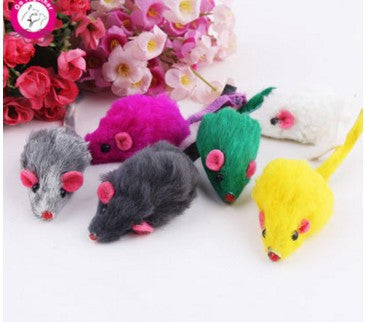 Mini Creative False Mouse Playing Cat Toy