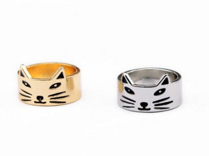 Vintage Brief Cat Rings