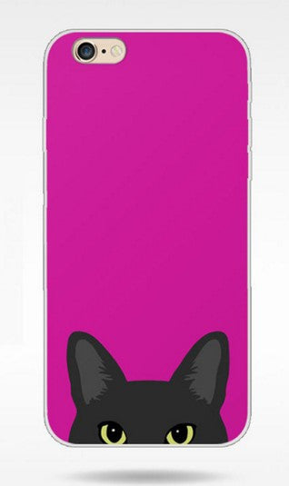 Cat And Dog Lovely Pattern Cover Case for iPhone