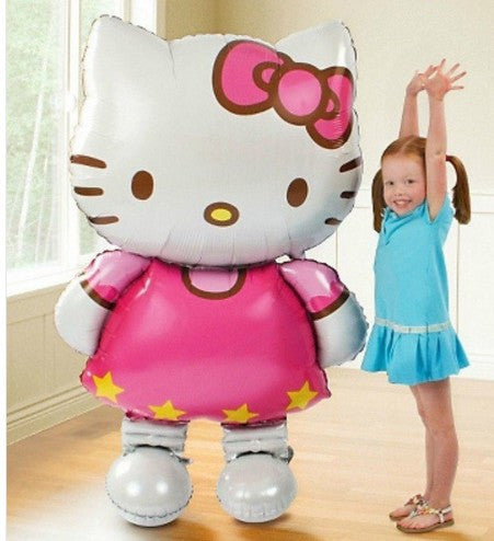 Hello Kitty Cat Foil Birthday Balloon Decoration
