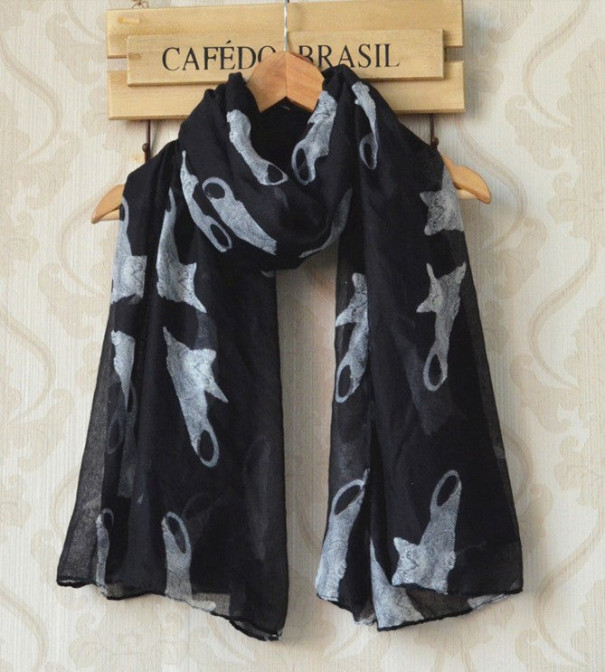 Spring and Winter Cotton and Polyester Scarf