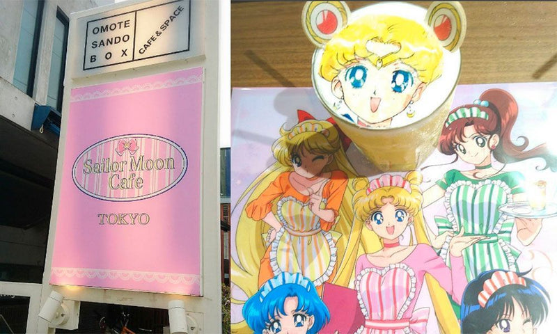 Sailor moon Cafe in Japan