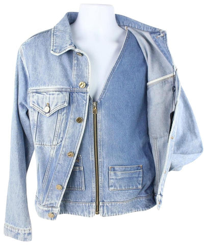 Louis Vuitton Runway Virgil Abloh ss19 Louis XIX Denim Jacket 13lz1023