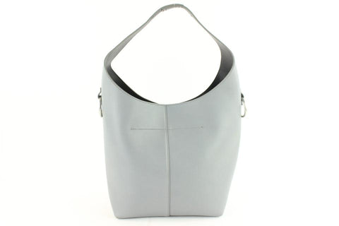 Alexander Wang Genesis 16mz1126 Gray Leather Hobo Bag