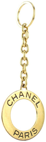Chanel Gold 93P Keychain Bag Charm Chain Key Ring 188ccs28