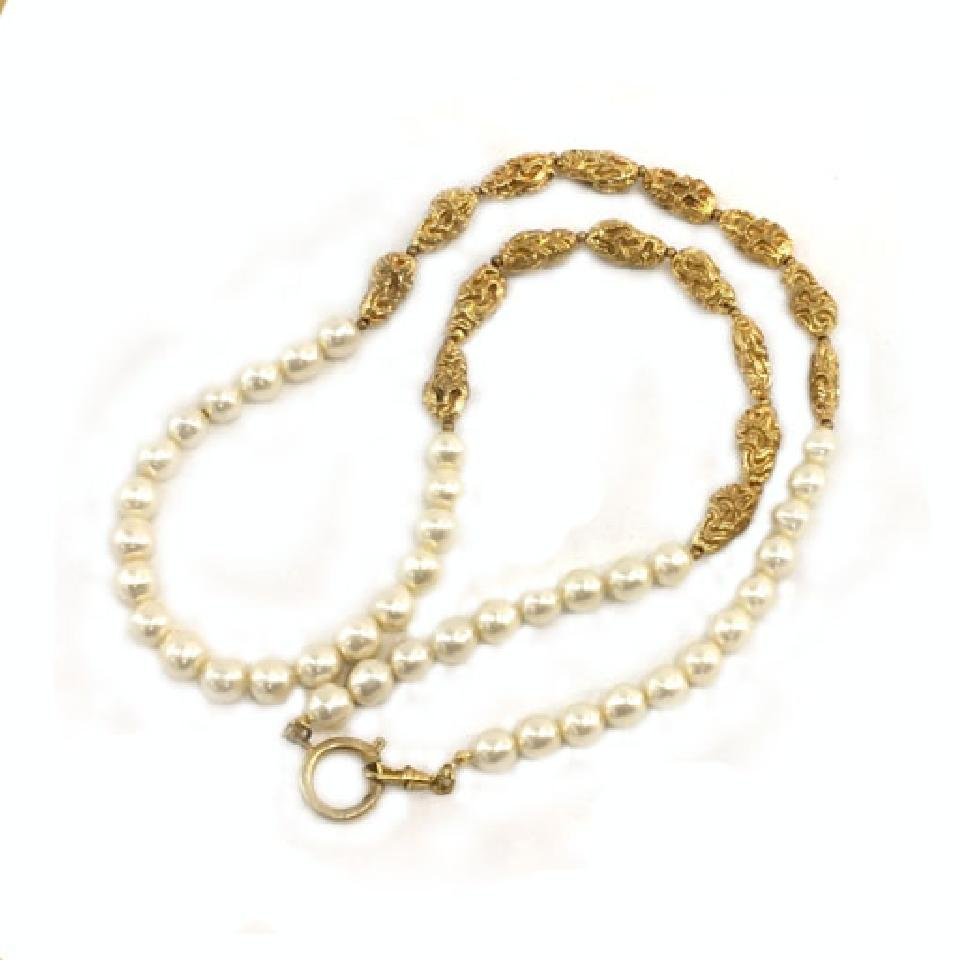 851ed24b2d103 Chanel Pearl Necklace 213417 – Bagriculture