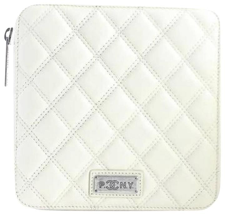 CHANEL (ULTRA RARE) Quilted PNY Zip Case 4CR0522