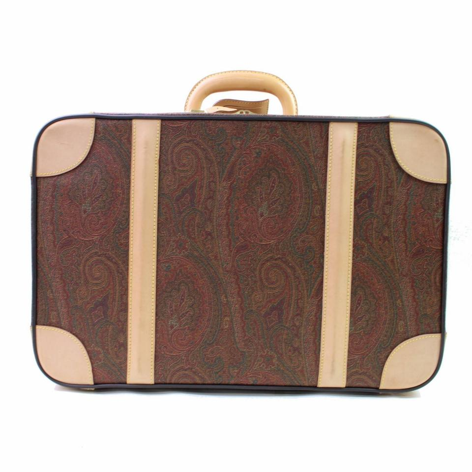 Etro Paisley Trunk Steamer Suitcase 866601