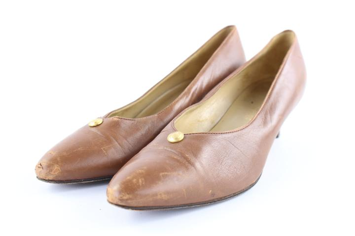 Gucci Brown 14gr1227 Pumps