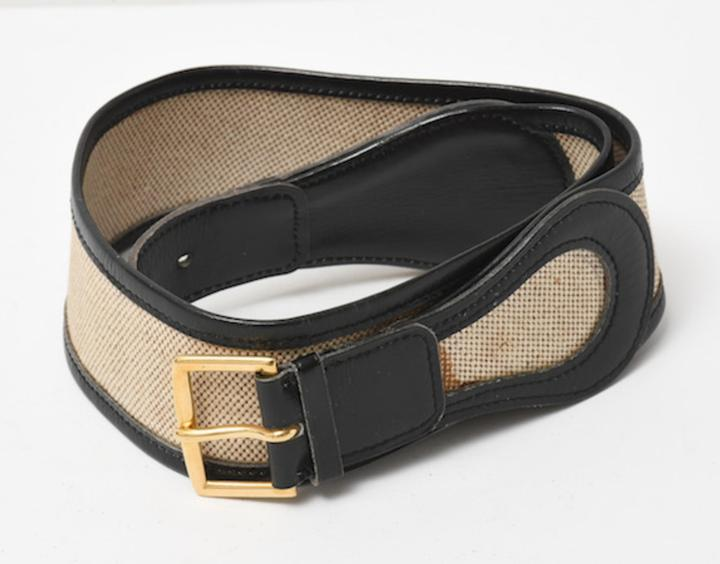 Louis Vuitton Toile Belt 226902