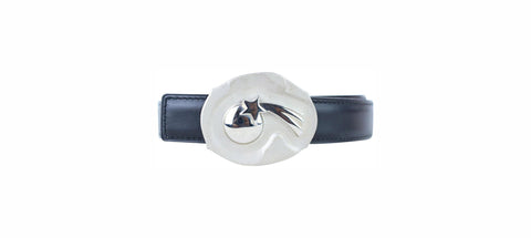 Hermes ( ULTRA RARE ) Comet Star H Belt Kit Reversible Silver Limited 859186