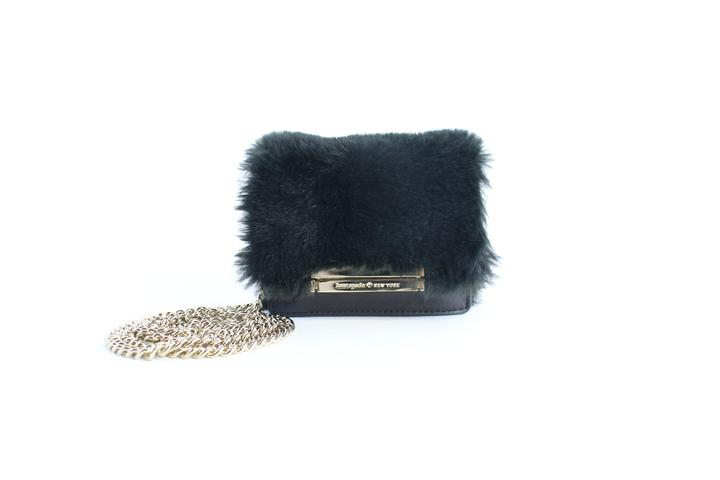 Kate Spade Mini Fur Crossbody Chain Flap 21mz0824