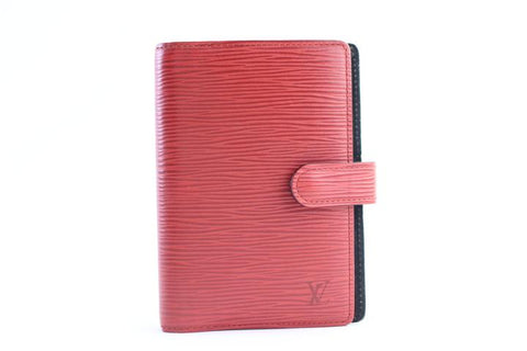 Louis Vuitton Red Epi Agenda PM 10LR0618