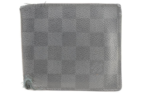 Louis Vuitton 17LK0120 Damier Graphite Men's Bifold Wallet