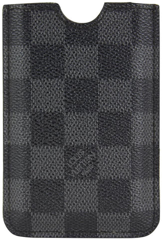 Louis Vuitton Black Damier Graphite iPhone 3G Case or Card Holder 22lvs1230
