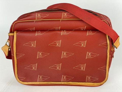 Louis Vuitton Red LV Cup Bosphore Calvi Limited Messenger 20lva62