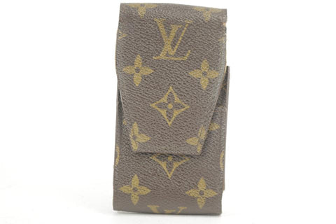 Louis Vuitton Monogram Etui Mobile or Cigarette Case Pouch 2LK1221