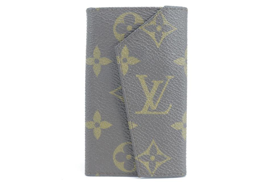Louis Vuitton  Monogram Key Holder 5 Case Ultra Rare Vintage 18LK0122