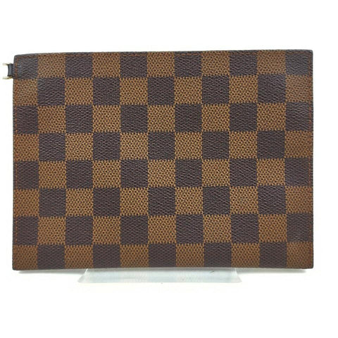 Louis Vuitton Damier Ebene Accessories Pouch Toiletry Pochette 861732