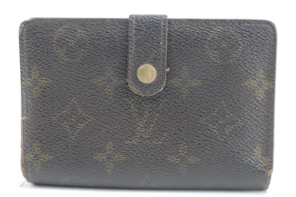 Louis Vuitton Kisslock Porte Viennois Wallet Monogram French Purse Twist 26LK0116