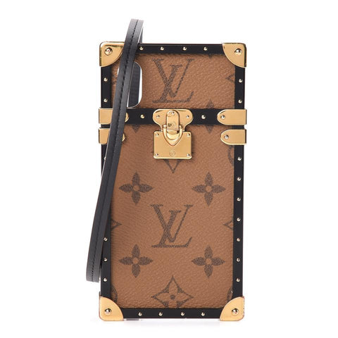 Louis Vuitton Reverse Monogram Eye Trunk iPhone X Case Xs 860568