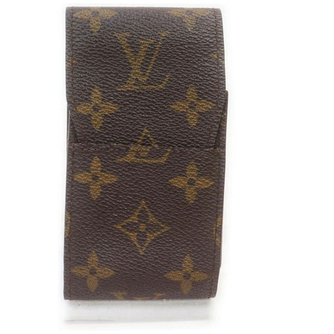 Louis Vuitton Monogram  Cigarette Case Etui Mobile Phone Holder862035