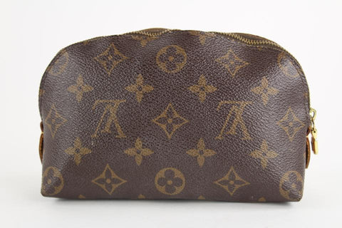 Louis Vuitton Monogram Demi Ronde Cosmetic Pouch Make Up Case 3LVS1211