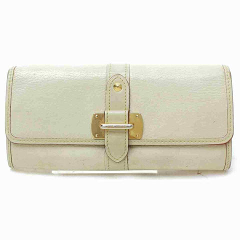 Louis Vuitton Favori Suhali Leather Wallet Portefeuille Le Fabuleux Cream 860548