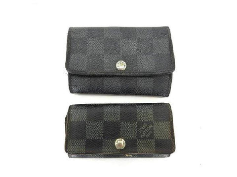 Damier Graphite and Ebene Multicles Key Case 217852