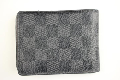 Louis Vuitton Damier Graphite Wallet 151LVA805