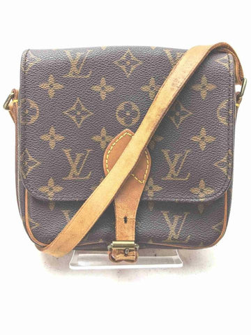 Louis Vuitton Monogram Mini Cartouchiere Flap Crossbody Nano Petit 861214