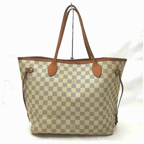 Louis Vuitton Damier Azur Neverfull MM Tote 861233