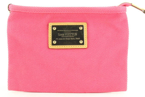 Louis Vuitton Hot Pink Antigua Pouch Bag 232185