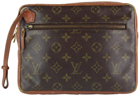 Louis Vuitton Monogram Pochette Dragonne Wristlet Bag 22lvs1215