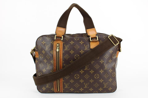 Louis Vuitton Monogram Sac Bosphore 2way Messenger Business Bag  23lvs1231