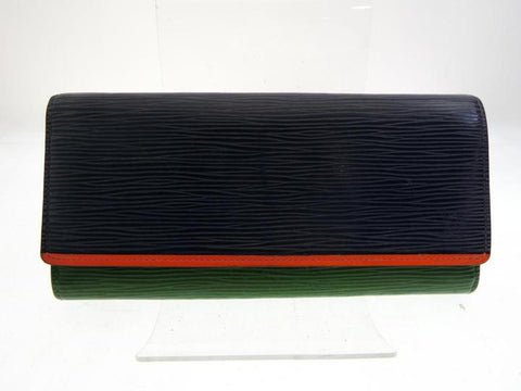 Louis Vuitton Tricolor Epi Flore Wallet 227740