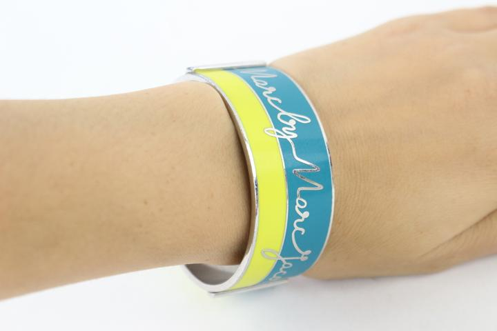 Script Bangle Bracelet 24mjz0724