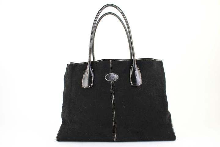 Large D-bag 11mt920 BLACK Tote Bag