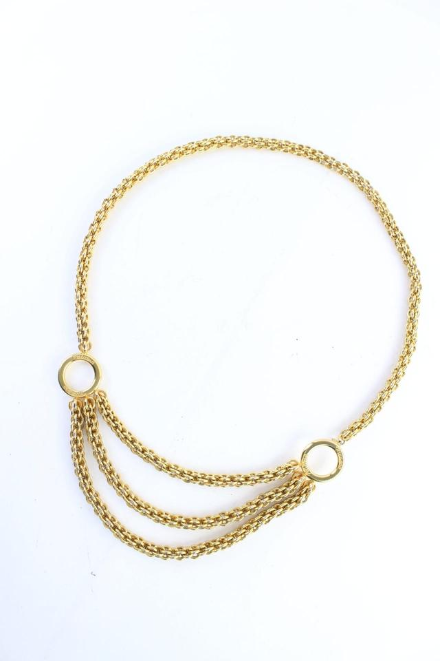 Paloma Picasso Triple Chain Belt or Necklace 35MR0702