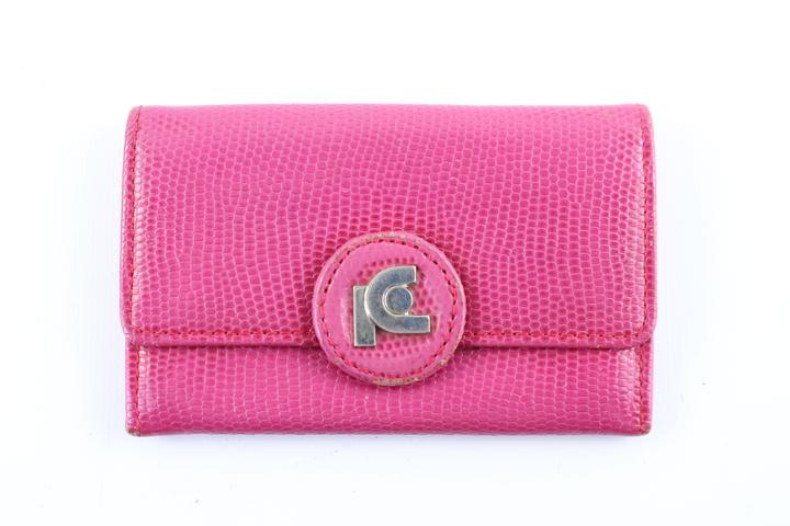 Pierre Cardin Pink Card Wallet 7mr0115 Clutch