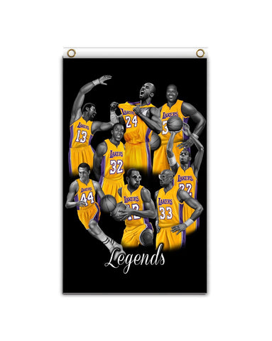 Lakers Legends Banner