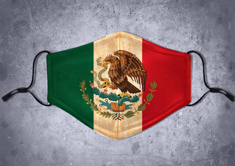 Mexico Lindo Face Mask