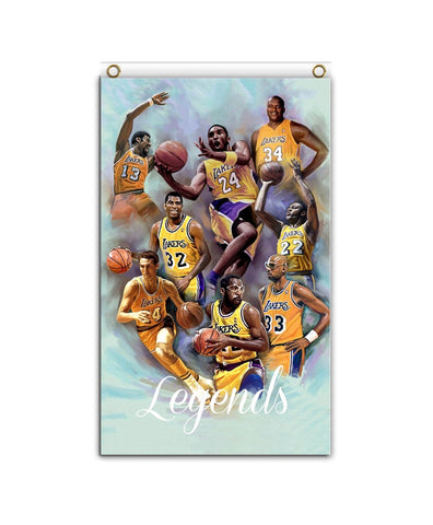 Lakers Legends color Banner