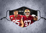 Pre-Order** Bosa & Kittle Face Mask