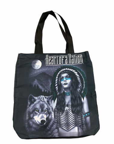Native Girl Tote Bag